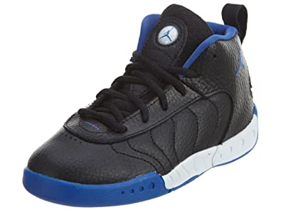 Image Unavailable. Image not available for. Color  Jordan Boy s Jumpman Pro  Basketball Shoes Black Varsity Royal-Metallic ... a3f831ded