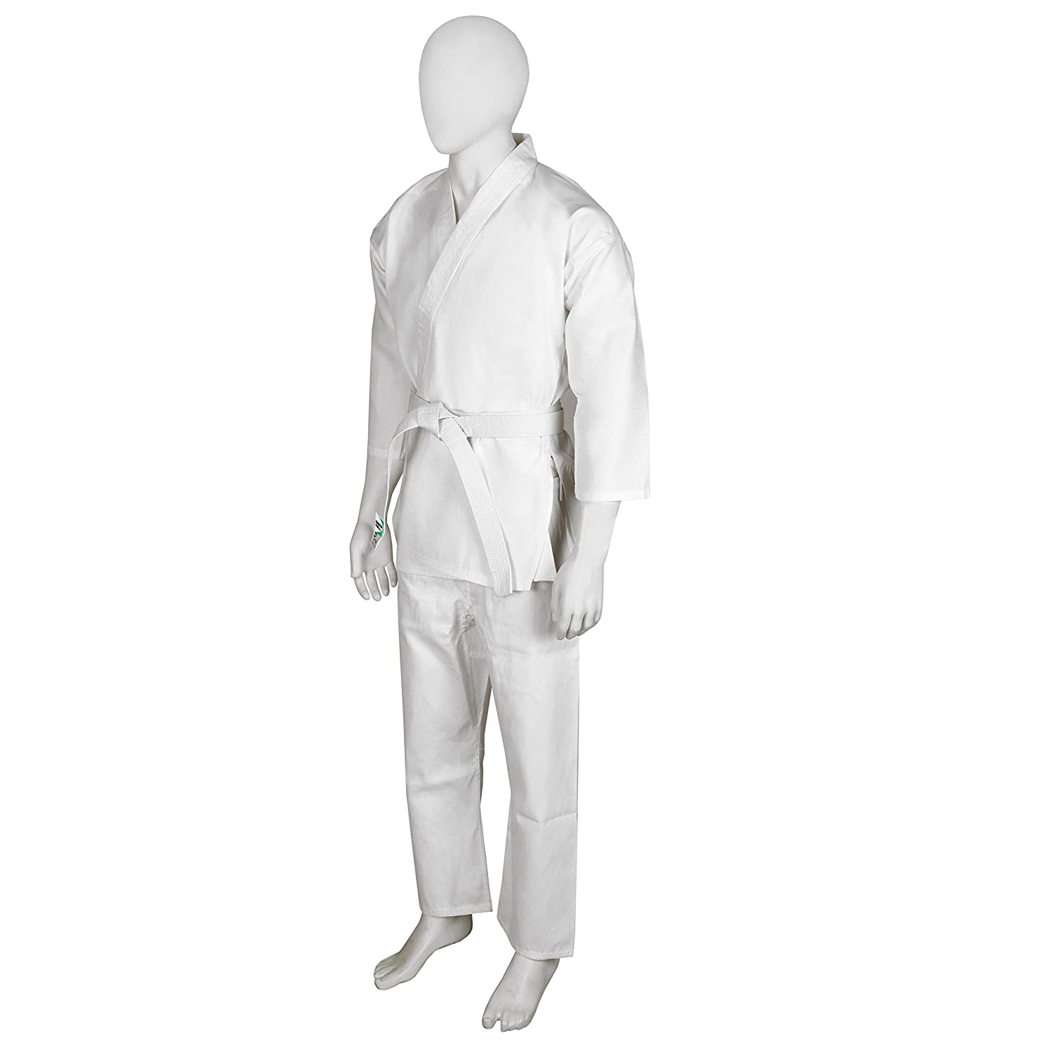 GREEN HILL Karate Suit Beginner with Belt, Karate Gi, Karate Uniform Ideal For Karate, MMA,Martial Arts,Judo and Training.