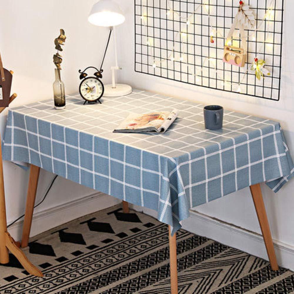 WJJYTX tischdecke Plastik, Modern/Protector Textilrücken idyllisch grau @ 120 * 170
