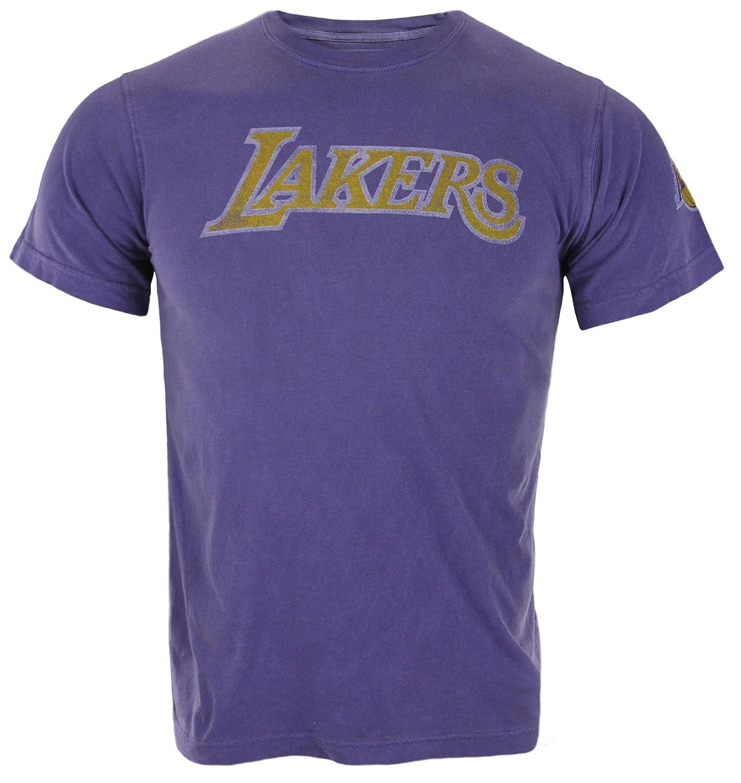 adidas Los ángeles Lakers NBA Hombres Camiseta de Manga ...