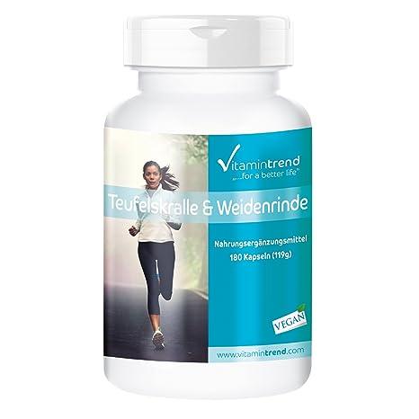 Vitamintrend - Harpagofito - 900mg - ¡¡Bote para 3 MESES!! - 180