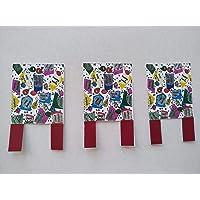 Figuras decorativas de papel para decorar el pastel. Tamaño 6 cm x 4 cm.