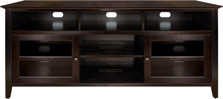 "Bell'O WAVS99163 63"" TV Stand for TVs up to 65"", Dark Espresso"