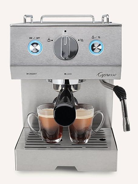 Café Pro Capresso, Máquina Profesional de Café Espresso y Capuchino, Estilo de barista, Con…