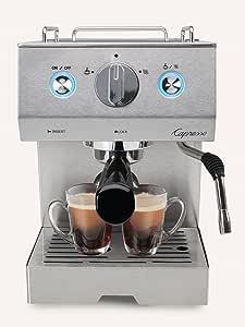 Capresso Cafe Pro Espresso Maker, 42 oz, Silver