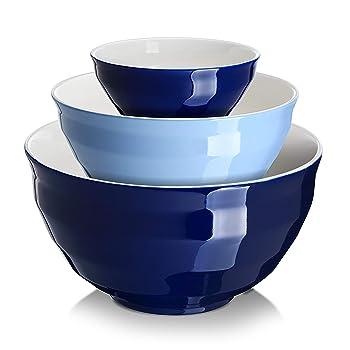 DOWAN Ceramic Mixing Bowls Set