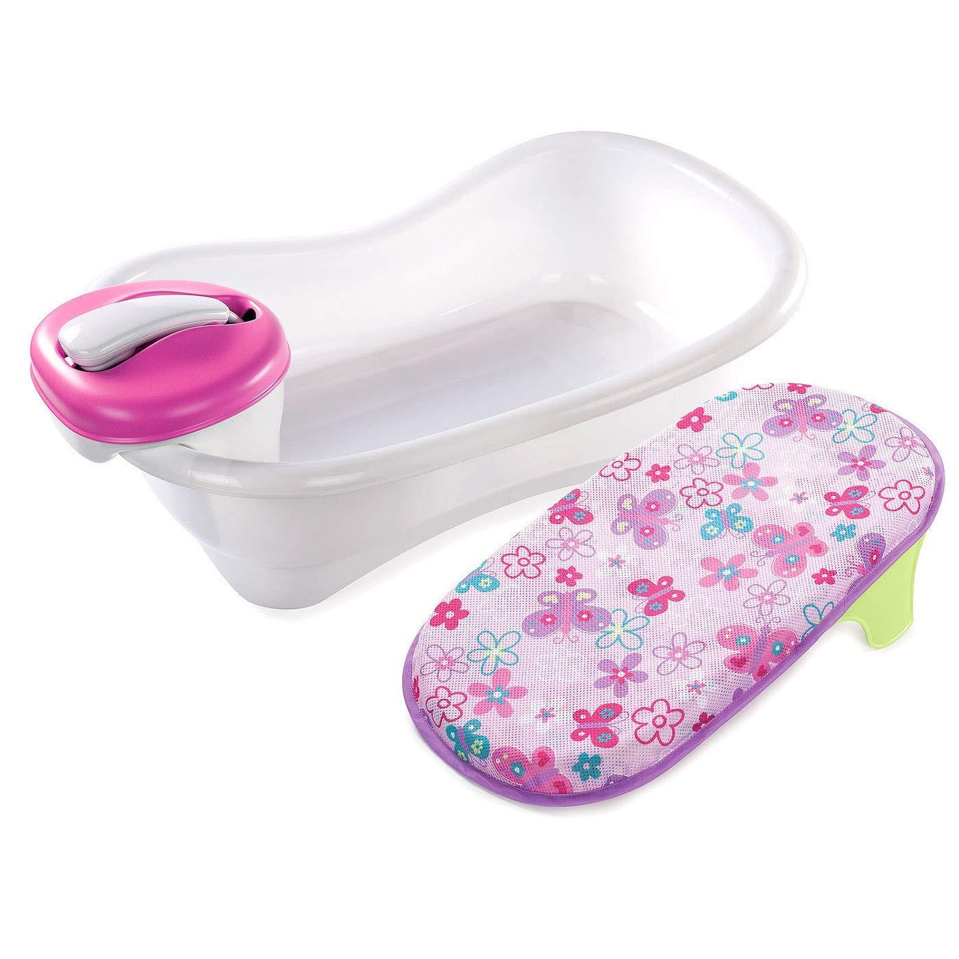 Newborn Bath Center Newborn Bathing Suit Bathing Bath Support Toddler Tub Motorized Shower Kit Set & E Book by Easy2Find.