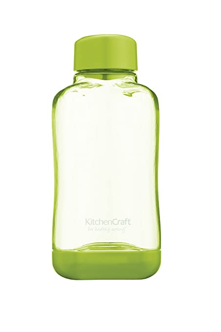 Kitchencraft Botella, Plástico, Verde, 450 ML
