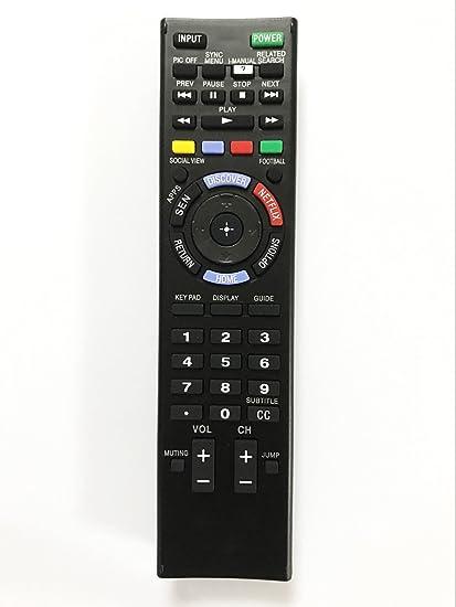 Replacement Remote Controller use for KDL-48W600B KDL-60W610B KDL-70X830B  KDL-55HX855 Sony HD Smart LED TV