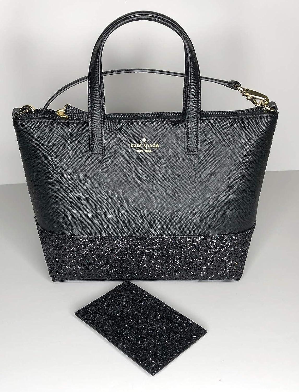 2da4a44c8c Amazon.com  Kate Spade New York Greta Court Ina WKRU5610 bundled with  matching Graham Card Case Wallet WLRU5200 (Black)  Shoes