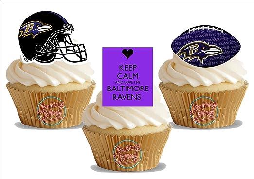 Pleasant Amazon Com American Football Baltimore Ravens Trio Mix Fun Personalised Birthday Cards Epsylily Jamesorg
