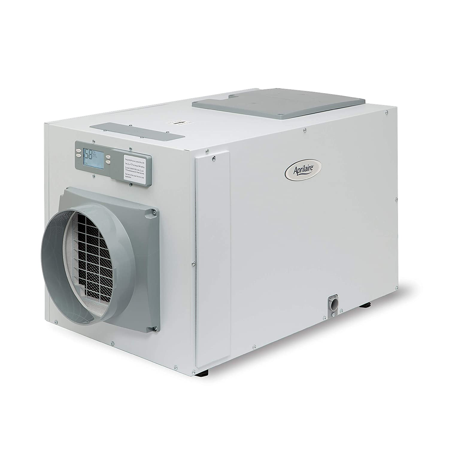 Aprilaire 1850 Whole Home Pro Dehumidifier, 95 Pint Dehumidifier for Homes up to 3000 sq. ft. 1850A