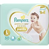 Pampers Premium Care Pants Diapers, Large, 30 Count