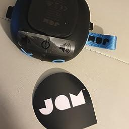 Jam Hang Up Altavoz Bluetooth, Controlador 3W, Reproducción de 8 horas, Impermeable, Certificación Ip67, Puerto de entrada auxiliar, USB integrado, Azul: Amazon.es: Electrónica