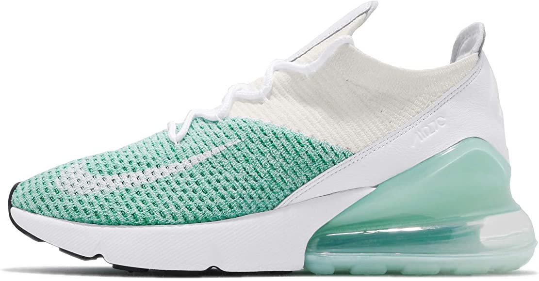 f8fc414c38d35 Amazon.com | NIKE Women's WMNS Air Max 270 Flyknit, Igloo/White ...