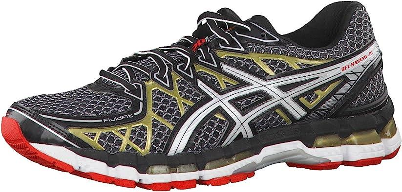 Asics Zapatillas Running Gel Kayano 20 Negro EU 47 (US 12.5): Amazon.es: Zapatos y complementos