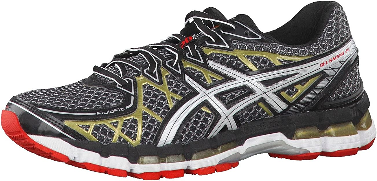 Asics Zapatillas Running Gel Kayano 20 Negro EU 47 (US 12.5): Amazon.es: Zapatos y complementos