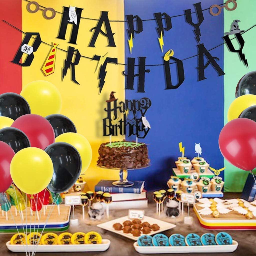 Amycute 49 Piezas Decoracion de Fiesta Mago Cumpleaños Banner ...