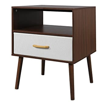 Amazon.de: Lifewit Nachttisch Schlafzimmer Wohnzimmer Tisch Kabinet ...