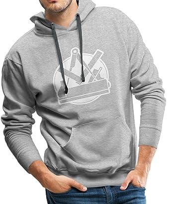 Tischler Zeichen spreadshirt tischler zunft zeichen männer premium hoodie amazon de