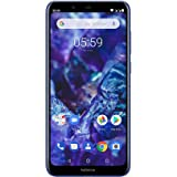 "Nokia 5.1 Plus 14,7 cm (5.8"") 3 GB 32 GB SIM Doble 4G Azul 3060 mAh - Smartphone (14,7 cm (5.8""), 1,8 GHz, 3 GB, 32 GB, 13 MP, Azul)"