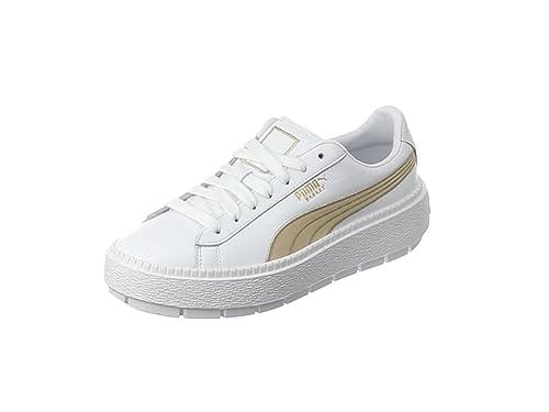 PUMA Damen Suede Heart Velvet Rope 365111 01 Sneaker: Puma