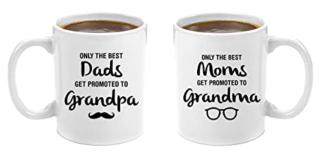 the best dads get promoted to grandpa best moms get promoted to grandma premium