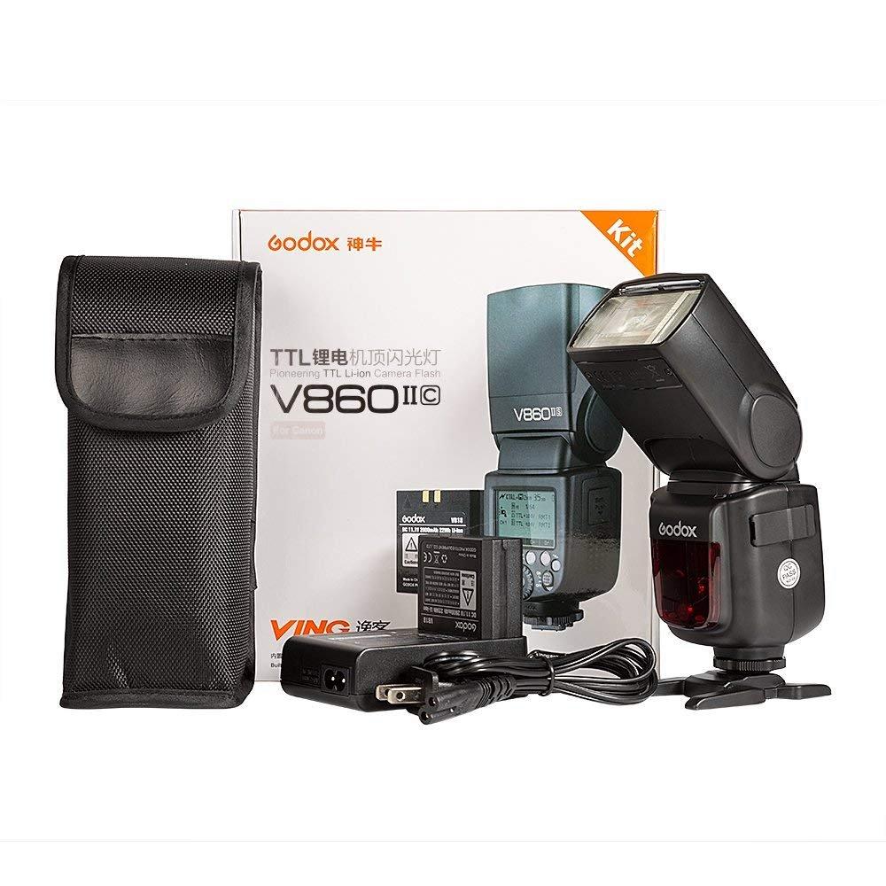 Godox V860II-C Camera Flash Speedlite GN60 E-TTL HSS 1/8000s 2.4G ...