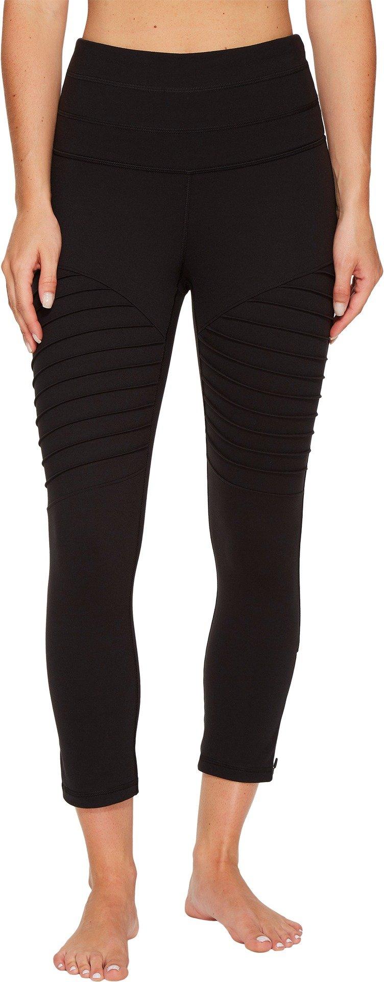 Lucy Women's Perfect Core Moto Capri Leggings Lucy Black Pants
