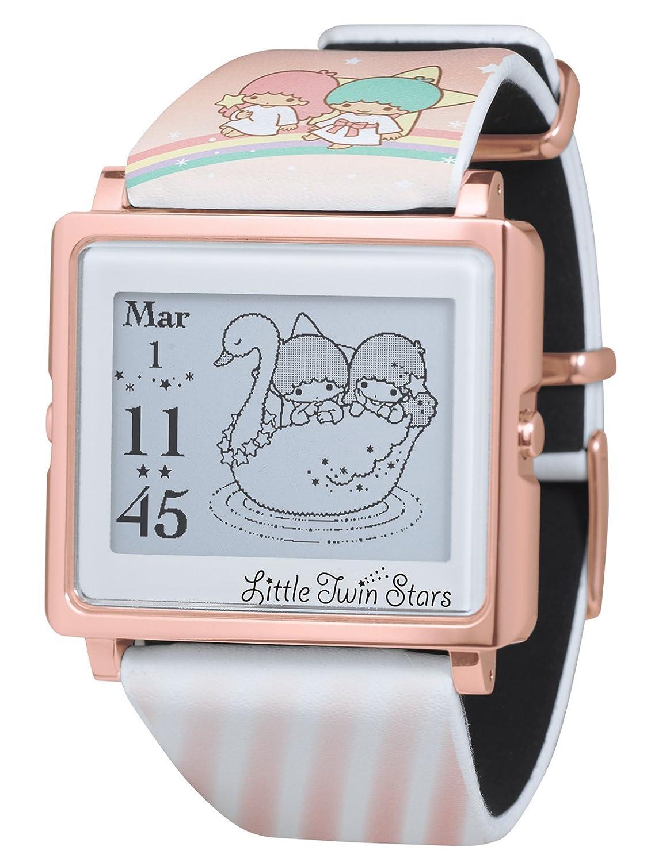 [エプソン スマートキャンバス]EPSON smart canvas キキ&ララ レインボー 腕時計 W1-LT10110 B01I2G9UEK