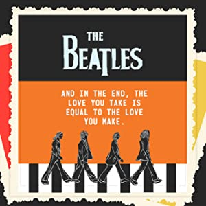 The Beatles Gifts | 7x7 Tile Artwork Ideal for Beatles Fans | Beatles Home Decor | Beatles Art | Gift for Music Lovers