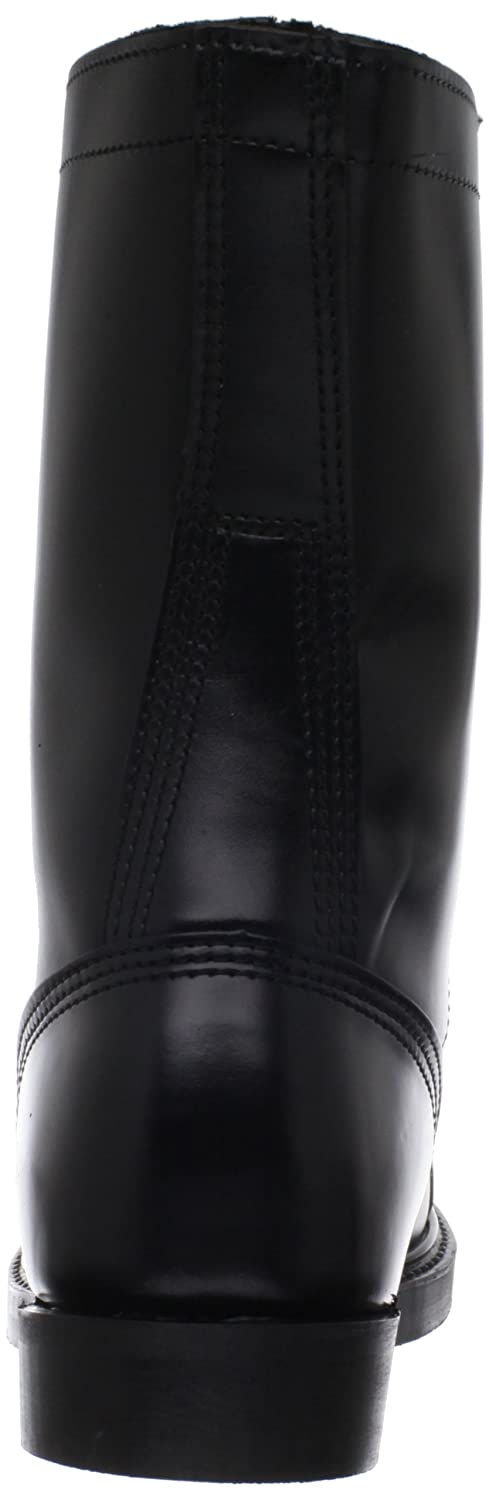 Original Corcoran Black Leather Jump Boots Size 10.5 E A Wide Selection Of Colours And Designs No Side Zipper