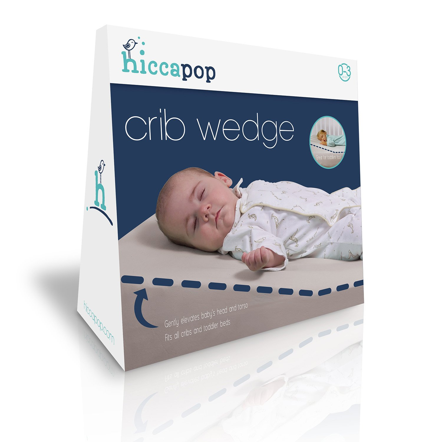 Crib wedges for babies - Amazon Com Hiccapop Foldable Safe Lift Universal Crib Wedge For Baby Mattress And Sleep Baby