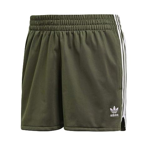adidas 3 Stripes Short – Pantaloncini, Donna, Verde (verbas)