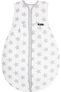Kostenloser Versand hohe Qualität Online-Verkauf Alvi Kugelschlafsack - Schlafsack Molton Stars silber 70cm 608-9 ...