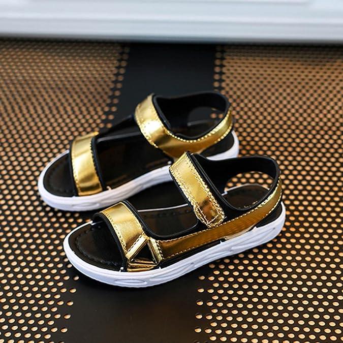 Sandali per ragazze, Tpulling Sandali casuali di sandali delle ragazze delle ragazze riempiono le scarpe da spiaggia dei ragazzi (6T, rosa)