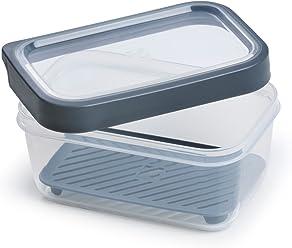 TarHong Geoffrey Zakarian Pro TZFLD4069MMC Food Storage Canister, Medium, Grey