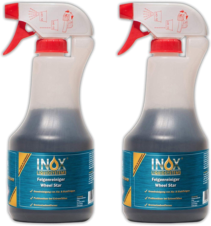 INOX® Felgenreiniger Konzentrat - Alufelgen Reinigen