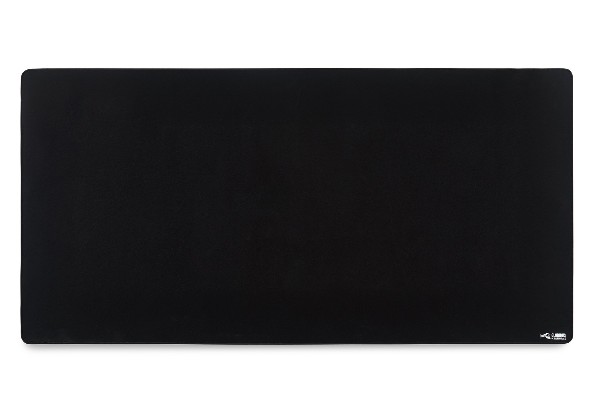 Glorious 3XL Extended Gaming Mouse Mat/Pad - Large, Wide (XLarge) Black Cloth Mousepad, Stitched Edges | 48x24'' (G-3XL) by Glorious PC Gaming Race