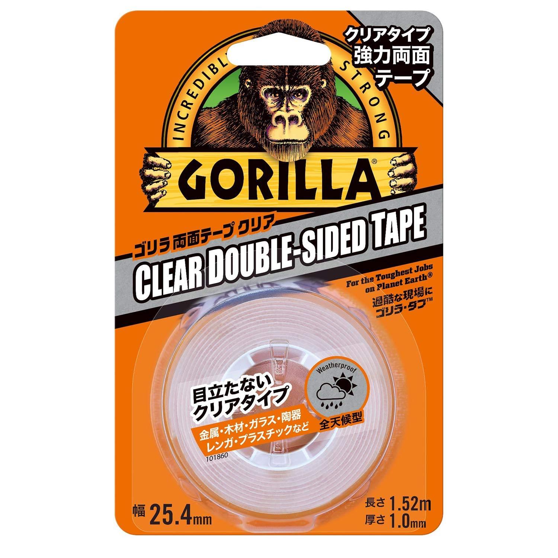 Gorilla Glue ゴリラ強力両面テープ クリア