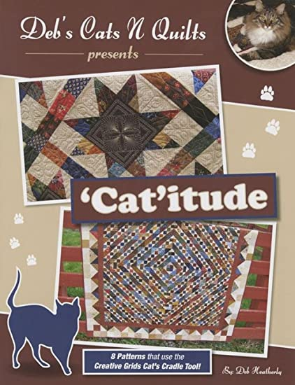 Amazon Debs Cats N Quilts Catitude Pattern Booklet