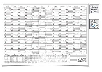 Calendario de pared 2019, color gris: Amazon.es: Oficina y ...