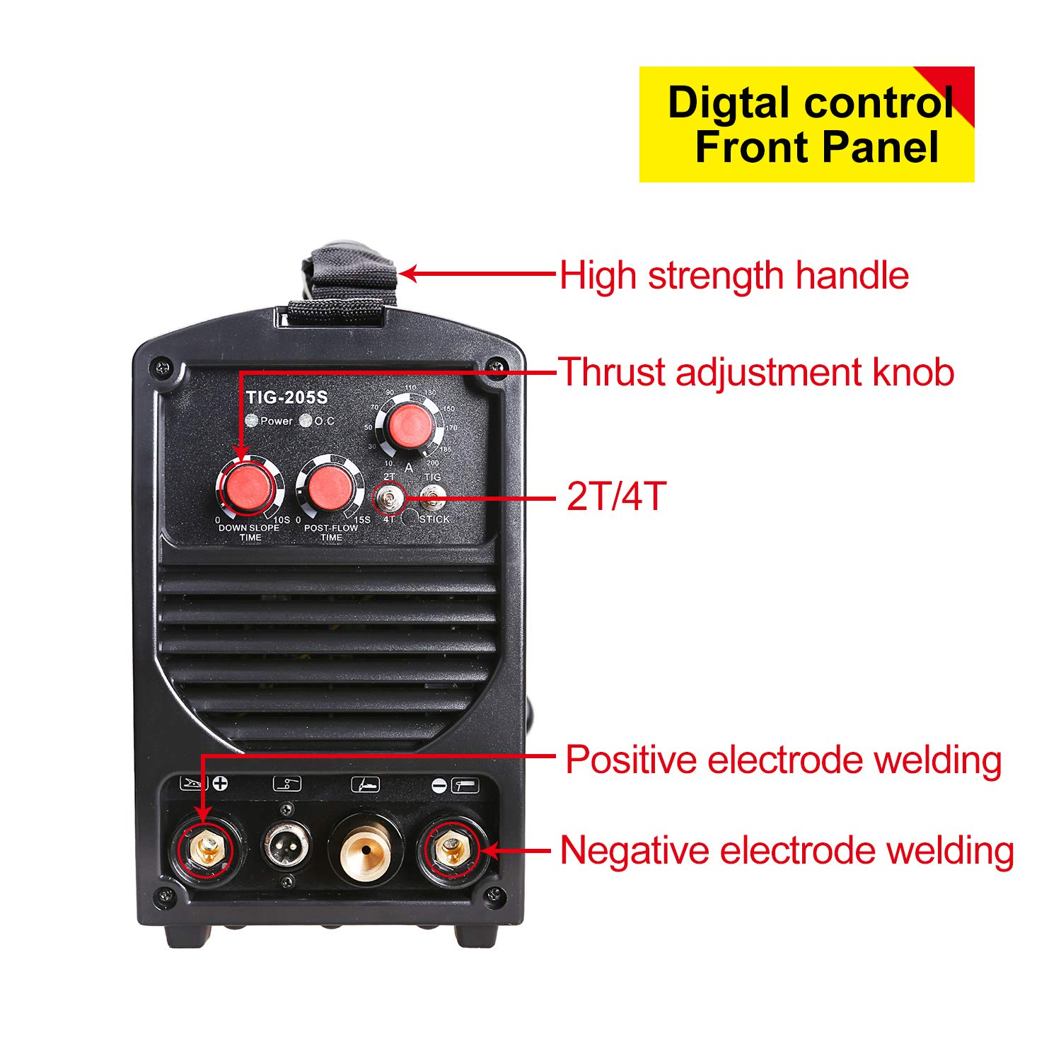 Ansen Welder IGBT Inverter Electric Welder 115V/230V Dual Voltage Tig&Stick DC Lift TIG Portable Welding Machine(160AMP/200AMP) (TIG-205S-200A) - - Amazon. ...