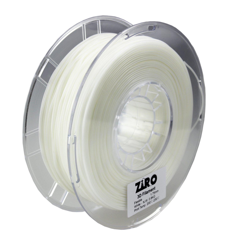 Ziro 3d impresora filamento 1,75 mm filamento de TPU Flexible ...