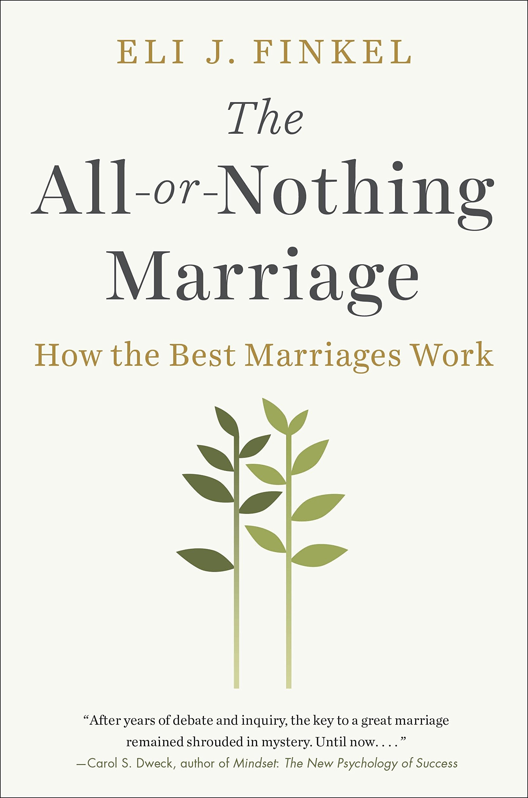 Download The All-or-Nothing Marriage: How the Best Marriages Work pdf