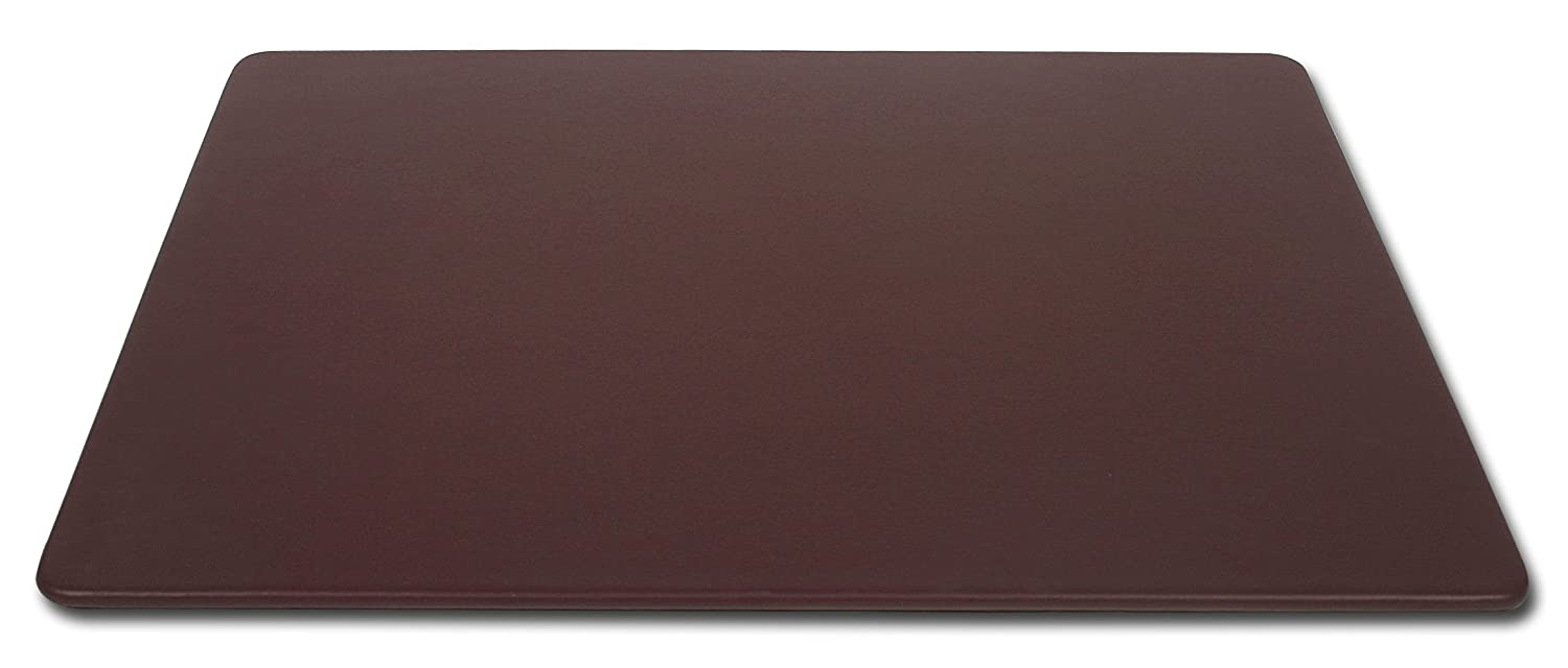 Dacasso Leather Desk Mat Without Rails, Chocolate Brown, 30 x 19-inch P3418