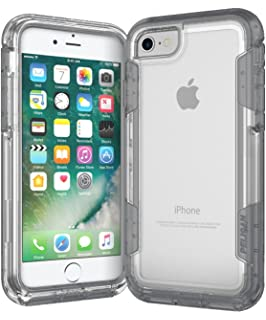 size 40 b39af 33849 Amazon.com: Pelican Voyager iPhone 7 Plus Case (Clear/Gray): Cell ...