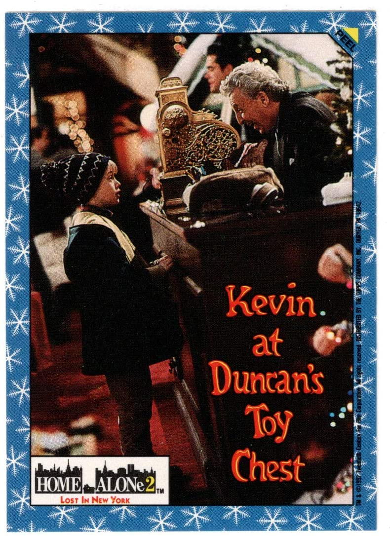 Kevin at Duncan's Toy Chest - Home Alone 2: Lost in New York (Trading Card) Sticker Puzzle # 2 - Topps - 1992 NM/MT