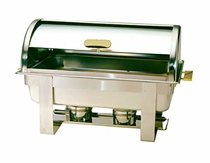 Amazon Com Crestware Roll Top Chafer Complete Chafing Dishes
