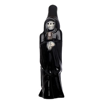 Metier Grim Reaper Ceramic Bong (5 cm x 5 cm x 25 cm, Black)